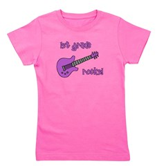 1stgraderocks_purple.png Girl's Tee