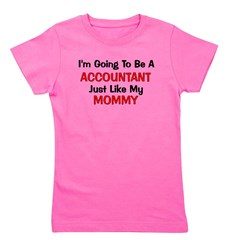 2-accountant_mommy.png Girl's Tee