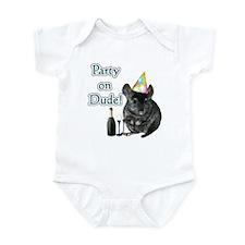 Chin Party Infant Bodysuit