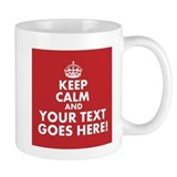 Keep calm Coffee Mugs