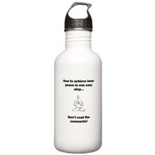 Don't read the comment Sports Water Bottle