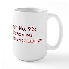 Rule No. 76 Mugs