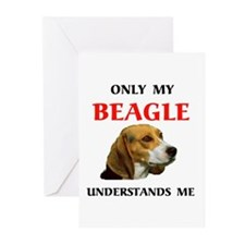MY BEAGLE Greeting Cards (Pk of 10)