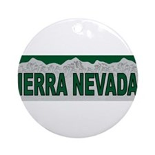 The Sierra Nevadas Ornament (Round)