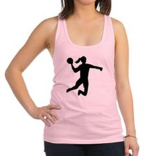 Womens handball Racerback Tank Top