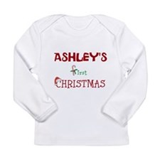 BABYS FIRST CHRISTMAS Long Sleeve T-Shirt