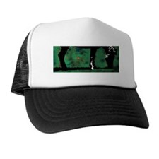 Zebra Trucker Hat