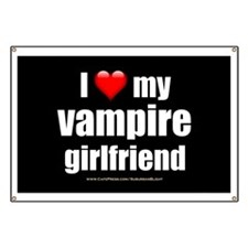 """Love My Vampire Girlfriend"" Banner"