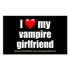 """Love My Vampire Girlfriend"" Decal"