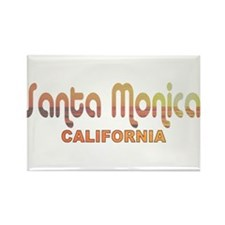 Santa Monica, California Rectangle Magnet