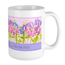 Birth Flower And Gem April Mug
