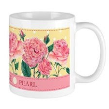 Birth Flowers and Gem Mug June