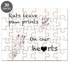 paw prints Puzzle