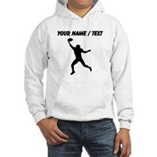 Custom Football Wide Receiver Silhouette Jumper Ho