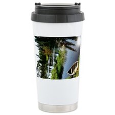Canoeing Alaska Travel Mug