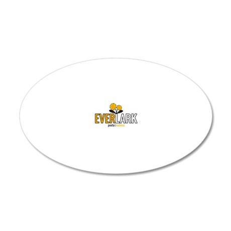 EverLark 20x12 Oval Wall Decal
