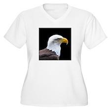 Bald Eagle profile Plus Size T-Shirt