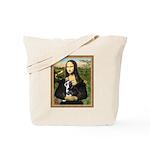 Mona & her Boston Ter Tote Bag