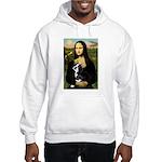 Mona & her Boston Ter Hooded Sweatshirt