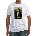 Mona & her Boston Ter Fitted T-Shirt