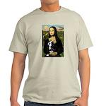 Mona & her Boston Ter Light T-Shirt