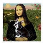 Mona & her Boston Ter Tile Coaster
