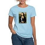 Mona & her Boston Ter Women's Light T-Shirt