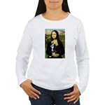 Mona & her Boston Ter Women's Long Sleeve T-Shirt