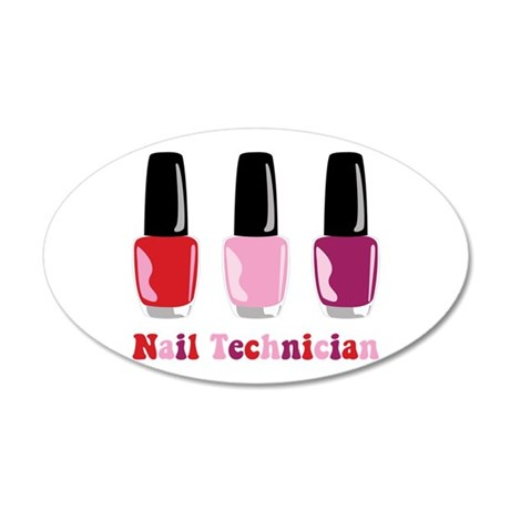 Nail Technician Wall Decal