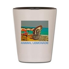 Dog Day at the Beach Shot Glass