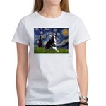 Starry Night Boston Ter Women's T-Shirt