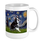 Starry Night Boston Ter Large Mug