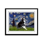Starry Night Boston Ter Framed Panel Print