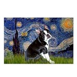 Starry Night Boston Ter Postcards (Package of 8)