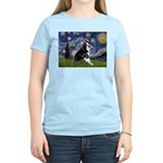 Starry Night Boston Ter Women's Light T-Shirt