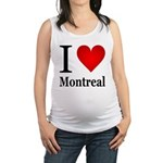 ilovemontreal.png Maternity Tank Top