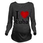 ilovecuba.png Long Sleeve Maternity T-Shirt