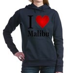 ilovemalibu.png Hooded Sweatshirt