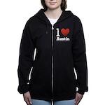 I-love-Austin.png Zip Hoodie