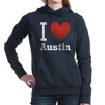 I-love-Austin.png Hooded Sweatshirt