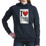 sea isle city rectangle.png Hooded Sweatshirt