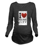 sea isle city rectangle.png Long Sleeve Maternity