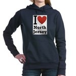 i love north jersey.png Hooded Sweatshirt
