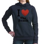i-love-the-beach.png Hooded Sweatshirt