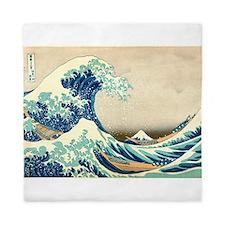 Hokusai Great Wave off Kanagawa Queen Duvet