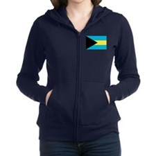 Flag of the Bahamas Zip Hoodie
