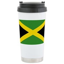Jamaican Flag Travel Mug