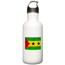 Flag of Sao Tome Water Bottle