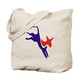Democrat Donkey v1 Tote Bag