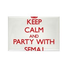 Keep Calm and Party with Semaj Magnets